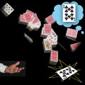 Bicycle Cards In The Air