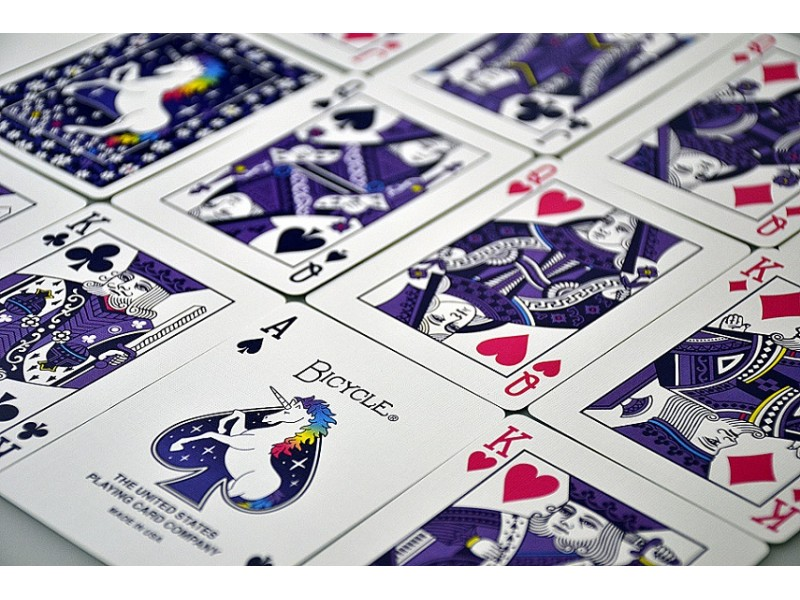 Bicycle Unicorn Playing Cards from Murphy/'s Magic